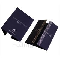 China Violet Business Greeting Cards wholesale