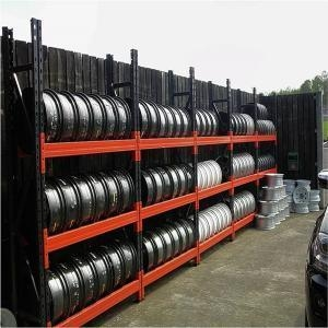 heavy duty warehouse movable tire storage rack 43455470. Black Bedroom Furniture Sets. Home Design Ideas
