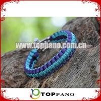 Buy cheap adjustable paracord survival cord bracelet with factory price product