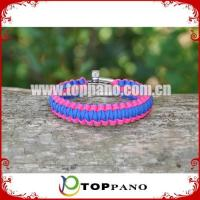 Buy cheap adjustable design survival bracelet for promotion product