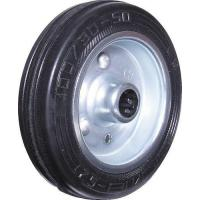 Buy cheap Castors, Black Rubber Tyre Wheel Only 125mm ATL9453230K product