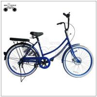 Buy cheap 24inch single speed colorful lady`s city bicycle product