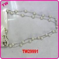 Buy cheap latest design beads necklace excellent jewelry pearl necklace product