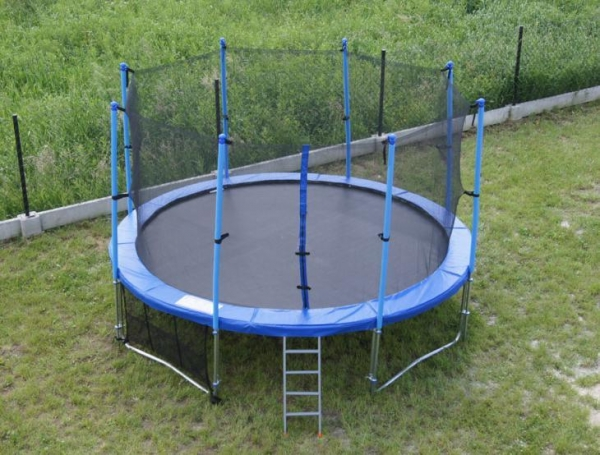 14ft Family Gardon Amuement Round Spring Trampoline With