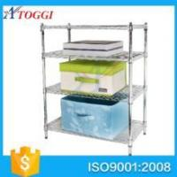 Buy cheap good storage anti rust easy installation bathroom wire shelving product