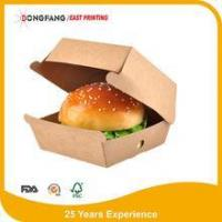 Buy cheap Kraft paper burger packaging box product