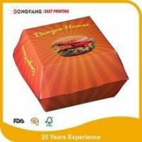 Buy cheap paper cardboard Burger box product