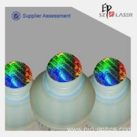 China Colorful Optical Authentication Hologram Seal Stickers In Stock on sale