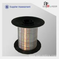 China 0.7 mm Holographic Security Thread Yarn with Logo Print on sale