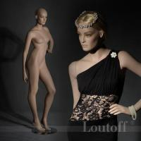 Buy cheap skin color with make up fashion female mannequin product