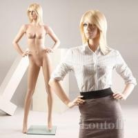Buy cheap fashion skin color full body flexible female mannequin product