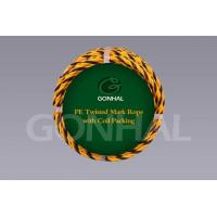 Buy cheap Twined Rope PE Twisted Mark Rope with Coil Packing product