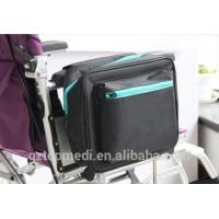 Buy cheap Topmedi Luxury Mesh Side Bags Power Electric Wheelchair Bag with Padded Loop for Handicapped from wholesalers