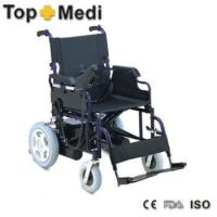 Buy cheap Electric battery mobility Foldable wheelchair power foldable electrical wheel chair from wholesalers