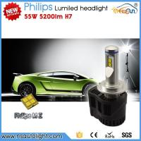 China Newsun New arrival Phili ps MZ H7 5200lm 55W led systems led head light CE Rohs approved on sale