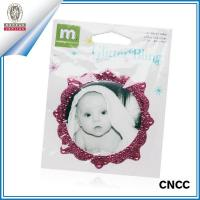 Buy cheap Rhinestne sticker Non-toxic decorative mirror frame sticker (ZY4-1021) product