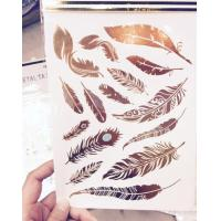 Crystal Sticker Metal Gold Silver Color Tattoo