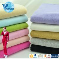 Victory Textile 80% Cotton 20% Polyester Knitted CVC Fabric Velvet