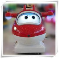 Buy cheap Cartoon Super Wings kiddie rides game machine product