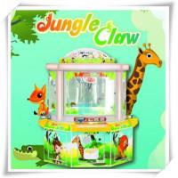 Buy cheap Prize Game Machine Jungle Claw plush crane toy vending machine & toy crane product