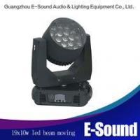 Buy cheap 19x10w led moving head zoom lights moving head stage light product