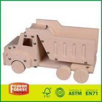 Wooden Toy Train Engine Mini kids Car