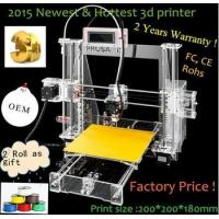 2015 Newest and Affordable Reprap Prusa I3 3D Printer China