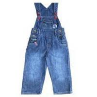 Buy cheap Baby Denim Jeans soft washed baby pants boys jeans with suspenders product