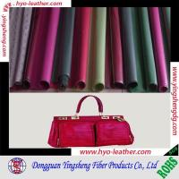 Buy cheap new style bag leather fabric from wholesalers
