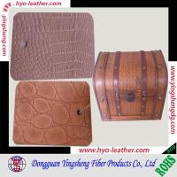 Buy cheap embossed furniture leather from wholesalers
