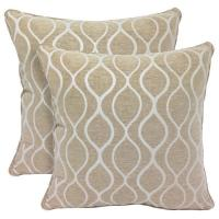 Buy cheap Decorative Accessories Gemma Chenille Geometri c20-inch Toss Pillow (Set of 2) product