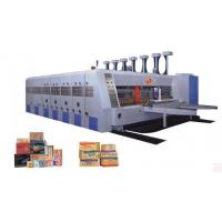 Buy cheap High speed automatic printing slotting and die cutting machine product
