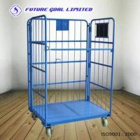 Buy cheap Folding Roll Container / Logistics Cargo Trolley / Warehouse Trolley product
