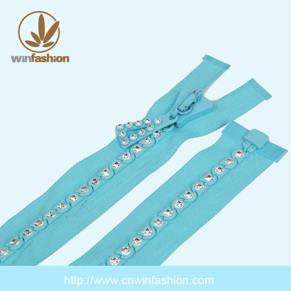 China PRODUCTS Zipper With Stone