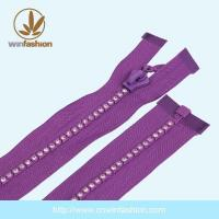 Buy cheap PRODUCTS Zipper With Stone product