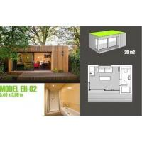 Soundproof Prefabricated Garden Studio / Prefab Garden Shed For Garden Music Studio