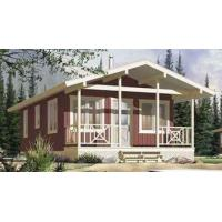 China Long Life Prefab Bungalow Homes , Affordable Prefabricated Homes For Living on sale