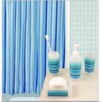 Buy cheap 180*180cm Bathroom peva shower curtain with hook product