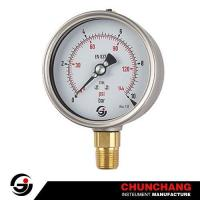 Buy cheap Bayonet SS Case Pressure Gauge product