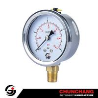 Buy cheap Crimped SS Case Pressure Gauge product