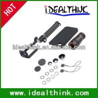 Buy cheap Item  Travel Kit 4 in1 Lens Kit for iPhone 4/4S (10X Telephoto+Fish Eye+Wide Angle+Macro Lens) product