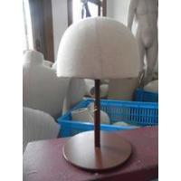 Buy cheap new style fashion female head fabric mannequin for hat ,wigs product