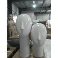 Buy cheap new style fashion female head fiberglass mannequin for hat ,wigs product