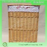 Buy cheap Wicker Laundry Baskets Large wicker basket with lid for hotel product