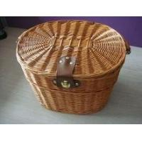 Buy cheap Wicker Bicycle Baskets wholesale wicker bicycle baskets made in China product