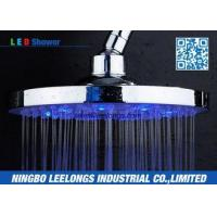 Buy cheap Hotel SPA Ceiling Mounted Rain Shower Heads Overhead , Blue Led Shower Head product