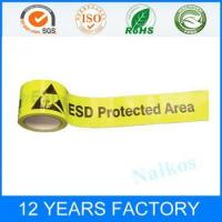Buy cheap Classified by Property ESD Marking/Warning/Caution Tape product