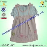 China 100%cotton wholesale baby girl party dresses on sale