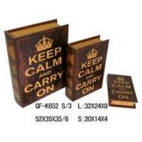 Buy cheap Book Box classical printing gift book box product