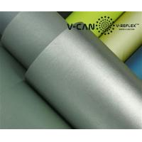Buy cheap PU Leather, Silver Reflective,Foam Reflective Leather 60 C Home Wash Temperature, RL-HW606000-PU product